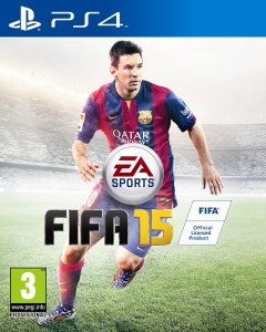 game poster of fifa 15 game